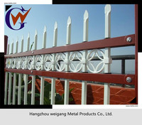 Stout and durable metal fence design for commercial using