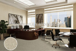 wool tufted plain carpet, loop pile 100%wool carpet for home and commercial use