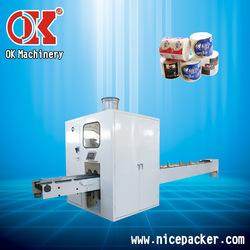 high speed paper log saw for tissue tissue cutting machine OK-701A