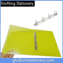 clear plastic document d ring folder /filing products