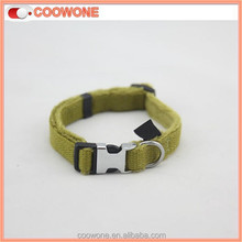 Suit Sale Zinc Alloy Metal Clasp Plain Nylon Dog Collar