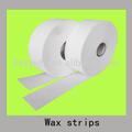 removedor de pelo cera tiras de tejido de papel de cera