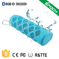 Portable stereo vibratio bluetooth speaker beacon multimedia speaker with mic input