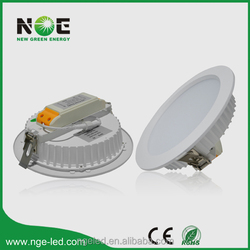 CE RoHS 80lm/w 8 inch Samsung/Epistar SMD 25w led recesse down lighting