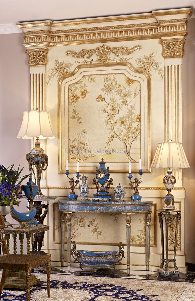 Vintage dessin console match de la table avec d coration d coratifs pour la maison meubles avec - Entree decoratie ...
