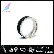 alibaba fashion jewelry 316L stainless steel gear ring for men