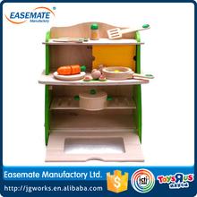 Großhandel holzspielzeug sicher und geschützt Umwelt kinder spielzeug küche spielzeug-set