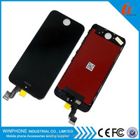 100% original and high quality LCD 4.0inch display Screen for iphone 5 lcd digitizer replacement, LCD for iphone 5 Screen