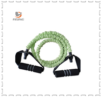 power home exercise rope body expander fitness latex resistance bands set