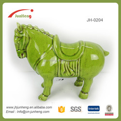 ornaments ceramic horse product, horse figurine, home decoration items modern