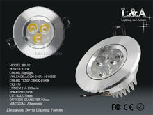 Hot Sale! 80mm od samsung led downlight BY-321