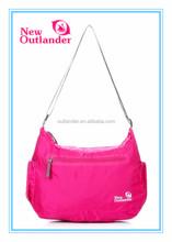 2014 New Fashion nylon foldable cross body bag for women