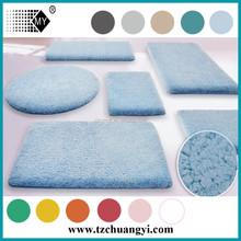 luxruy non slip water absorbent bathroom mat