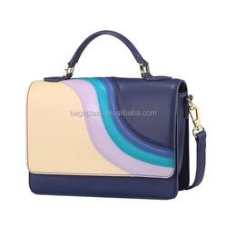 CC45-092 Wholesale colorful high quality cheap PU leather magazine women clutch bag