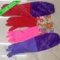 de couleur de nettoyage latex gants de ménage