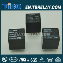 Max Operating Voltage 16vdc 25a relay Tianbo TRKM automobile relay in relay