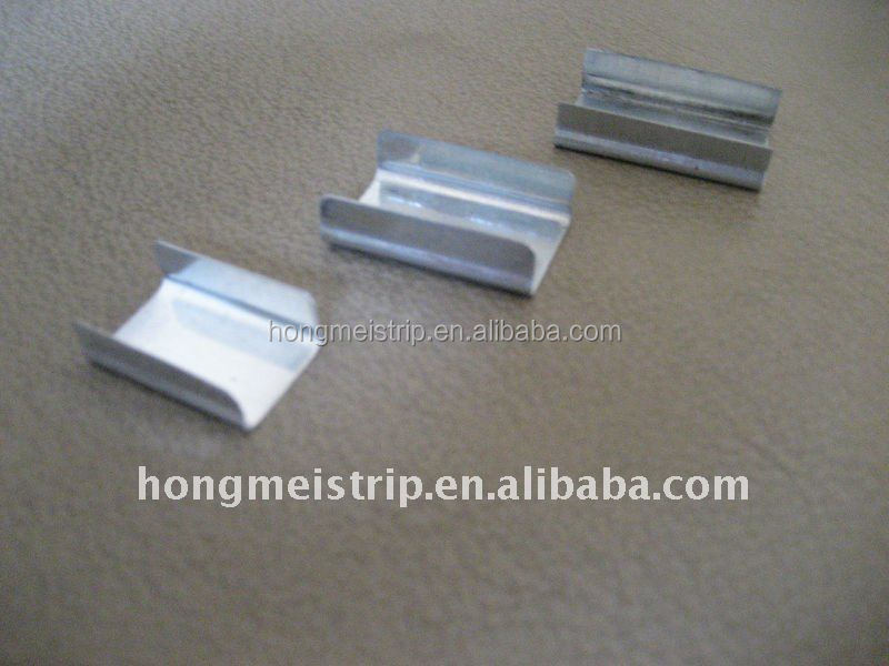 Galvanized steel strapping packing clips buy