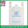 disposable and biodegradable newest printed t-shirt retail shopping bag