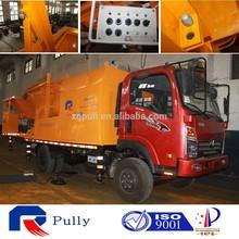 motor truck batcher concrete mixer pump