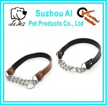 Martingale Dog Adjustable Leather Chain Collar Dog Prices