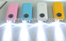 The fast selling item flash flight power bank useful gift for travel from China supplier