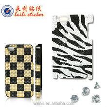 hand phone sticker,diamond sticker for phone,moblie sticker