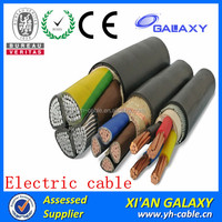 Copper conductor 300 sq mm Electric XLPE/PVC armoured underground dc power copper cable price per meter