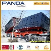 3 axle 30m3 dumper buckts for rockets or wood chips