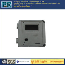 High precision cnc casting aluminium 6061 gas meter box