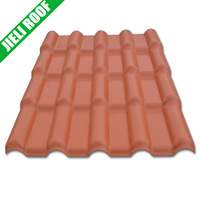 Anti-UV, long lifetime Synthetic resin roof tile for villa per price