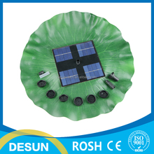 8v 1.6W mini Brushless Motor floating solar panle powered pump/fountain pond watering kit