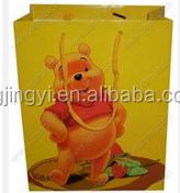 gift custom paper bags, gift handle paper bag logo printed