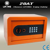 Hot in China!Colourful small home safe box as a gift(CE,RoHS)