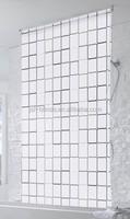 2105 readymade bathroom window curtain/curtain design new model/bathroom curtain