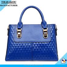 Fashion Woman Lady Classical PU leather Tote Bag Handbag