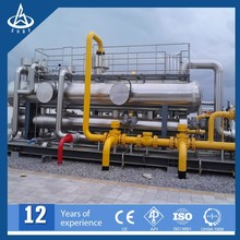 Natural gas skid station for gas collecting