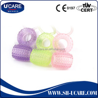 Sexy Toy Condom Vibrator Cock Ring For Variety Models Made By Soft Medical Silicone