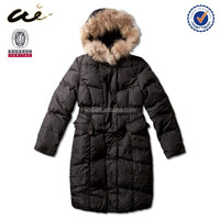 winter padding faux leather women jacket;snow jacket;oem jacket