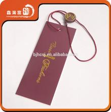 Beauty full color clothing hang tags wholesale custom