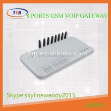 New Hot sale on 8 ports gsm gatway with manufacture best offer,first order ,first getget
