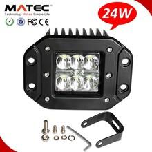 automobiles lighting spot/flood beams 24w led 24v work light