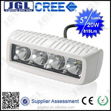 Boat, truck, off-road white 20W cree led work light bar, 24v led light bulb watrproof IP67 vehicle car auto parts
