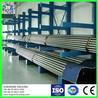 CE,TUV,ISO certificate China manufacturer 2015 kingmore Industrial Steel Pipe Storage Rack