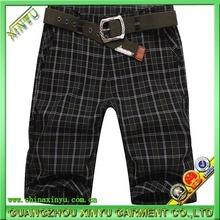 mens plain woven plaid bermuda shorts