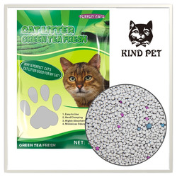 high quality pure bentonite cat litter pet pee pad