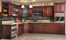 2014 Sell Solid wood Kitchen Cabinets (High End Quality in the Market)