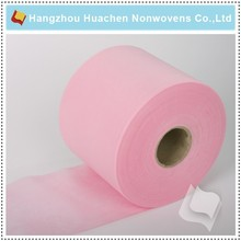 Pink Disposable Products PP Spunbond Nonwoven Fabric Price