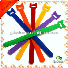 Hot sell colorful welcro cable tie, welcro tie, magic tape