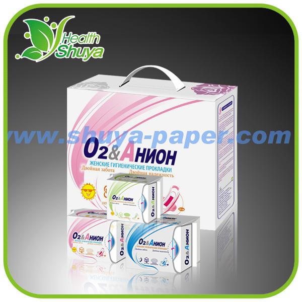 240 mm coton charbon de bambou statique bio llove lune anions serviettes hygiéniques ISO FDA CE