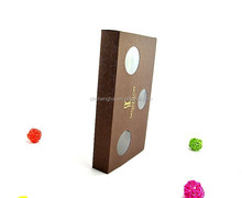 gift&craft paper gift box packaging with window
